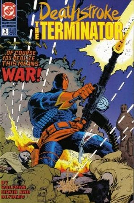 Cover of Deathstroke (Vol 1) The Terminator #3. One of 250,000 Vintage American Comics on sale from Krypton!