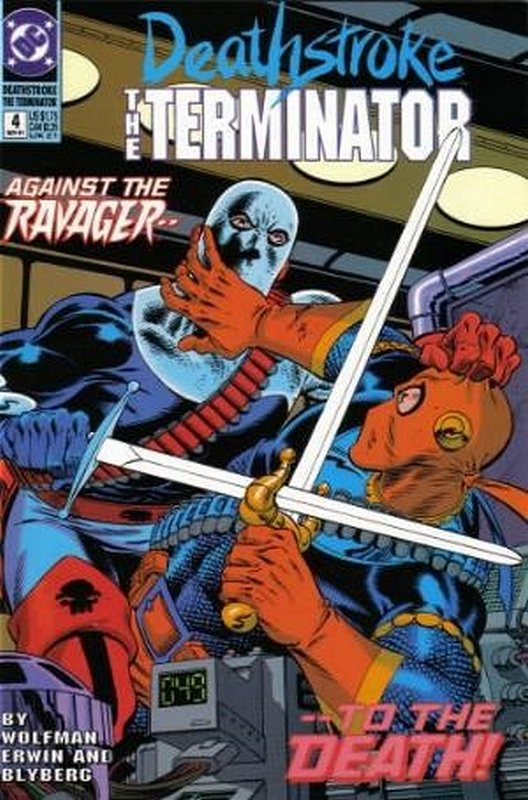 Cover of Deathstroke (Vol 1) The Terminator #4. One of 250,000 Vintage American Comics on sale from Krypton!