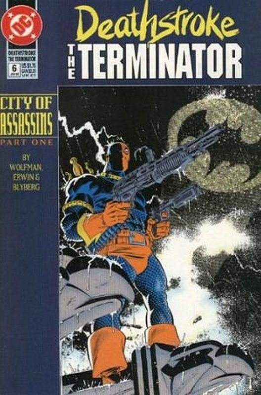 Cover of Deathstroke (Vol 1) The Terminator #6. One of 250,000 Vintage American Comics on sale from Krypton!