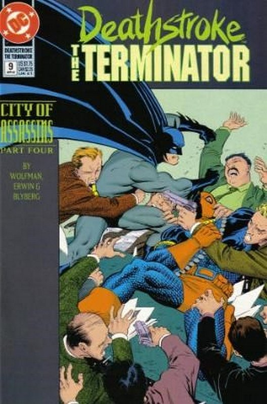 Cover of Deathstroke (Vol 1) The Terminator #9. One of 250,000 Vintage American Comics on sale from Krypton!