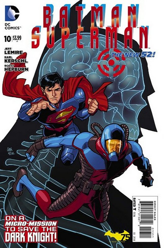 Cover of Batman/Superman (Vol 1) #10. One of 250,000 Vintage American Comics on sale from Krypton!