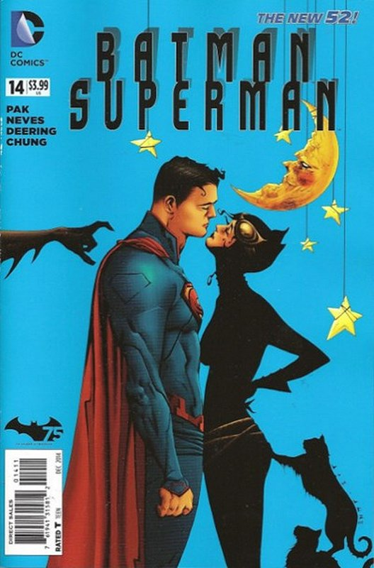 Cover of Batman/Superman (Vol 1) #14. One of 250,000 Vintage American Comics on sale from Krypton!