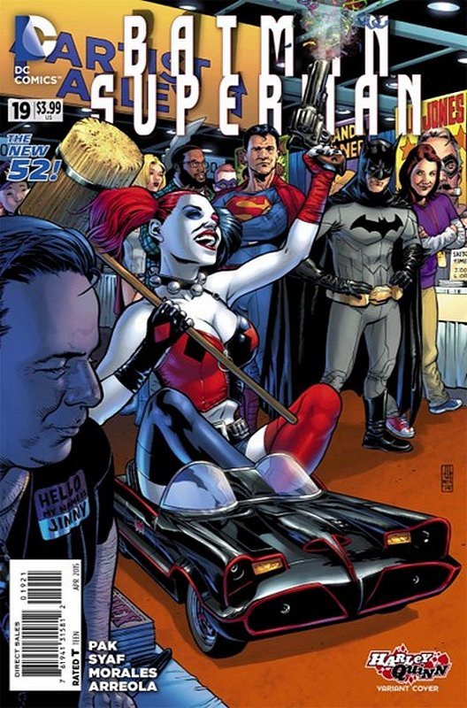 Cover of Batman/Superman (Vol 1) #19. One of 250,000 Vintage American Comics on sale from Krypton!