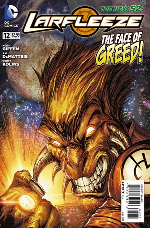 Cover of Larfleeze (Vol 1) #12. One of 250,000 Vintage American Comics on sale from Krypton!