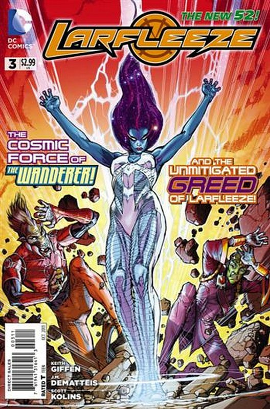 Cover of Larfleeze (Vol 1) #3. One of 250,000 Vintage American Comics on sale from Krypton!