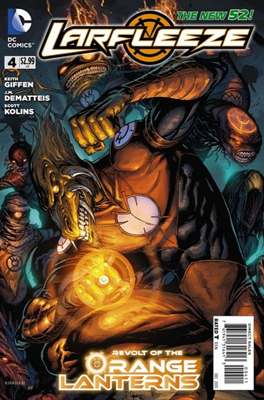 Cover of Larfleeze (Vol 1) #4. One of 250,000 Vintage American Comics on sale from Krypton!