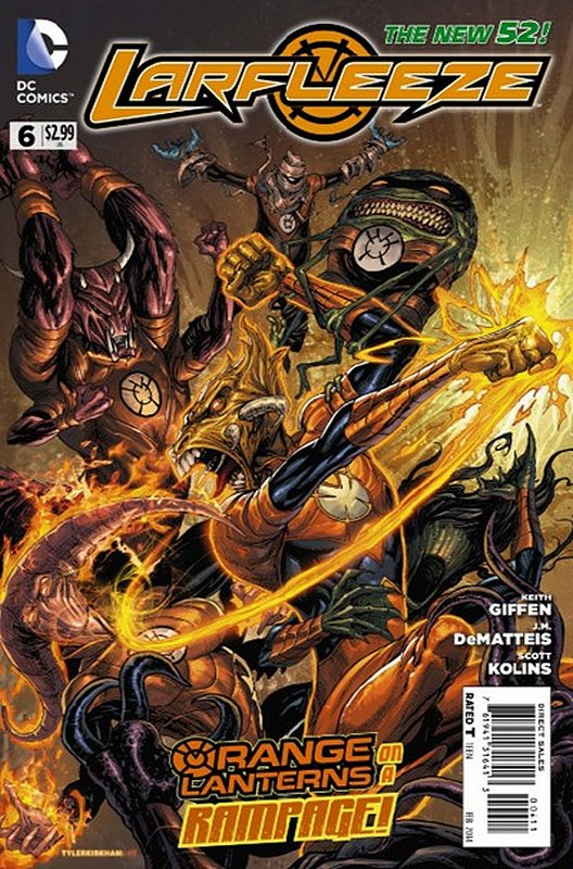 Cover of Larfleeze (Vol 1) #6. One of 250,000 Vintage American Comics on sale from Krypton!