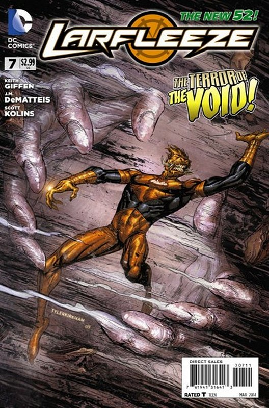 Cover of Larfleeze (Vol 1) #7. One of 250,000 Vintage American Comics on sale from Krypton!