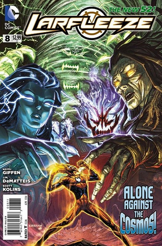Cover of Larfleeze (Vol 1) #8. One of 250,000 Vintage American Comics on sale from Krypton!