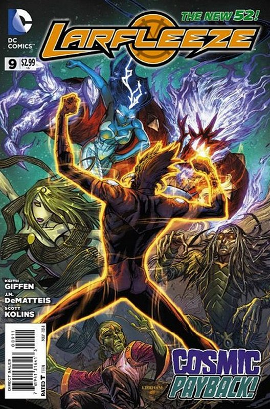 Cover of Larfleeze (Vol 1) #9. One of 250,000 Vintage American Comics on sale from Krypton!
