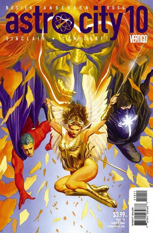Cover of Astro City (Vol 3) #10. One of 250,000 Vintage American Comics on sale from Krypton!