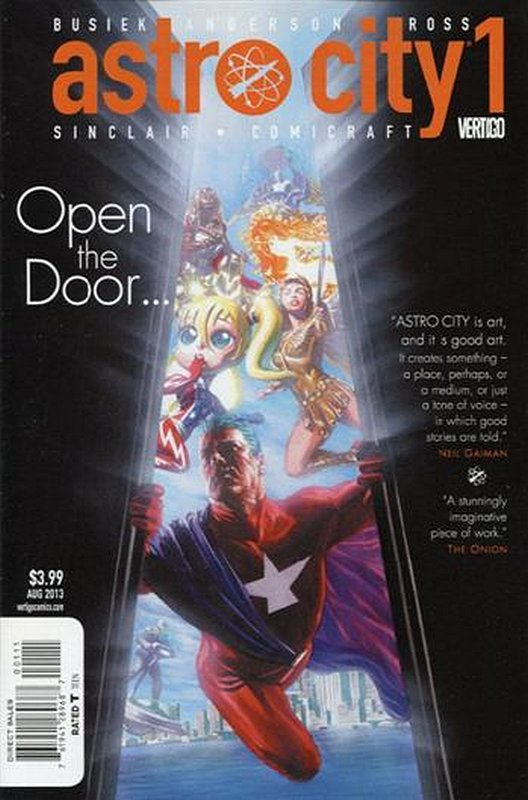 Cover of Astro City (Vol 3) #1. One of 250,000 Vintage American Comics on sale from Krypton!