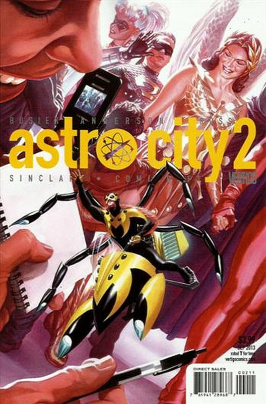 Cover of Astro City (Vol 3) #2. One of 250,000 Vintage American Comics on sale from Krypton!
