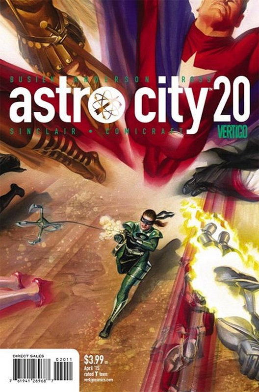 Cover of Astro City (Vol 3) #20. One of 250,000 Vintage American Comics on sale from Krypton!