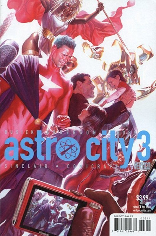 Cover of Astro City (Vol 3) #3. One of 250,000 Vintage American Comics on sale from Krypton!