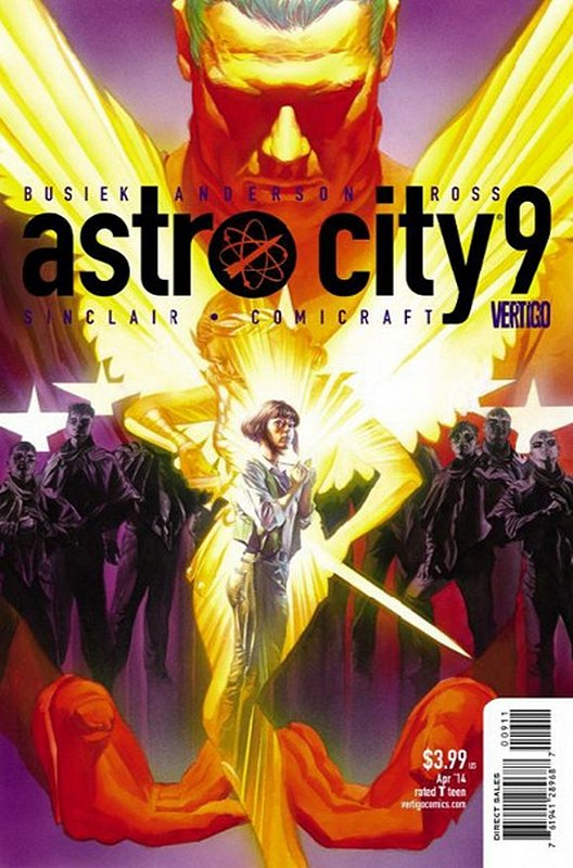 Cover of Astro City (Vol 3) #9. One of 250,000 Vintage American Comics on sale from Krypton!