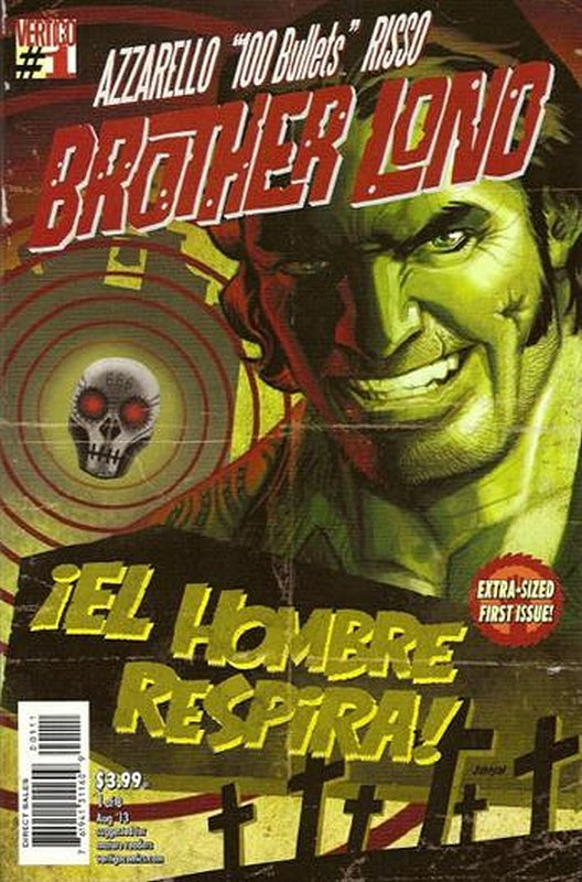 Cover of 100 Bullets: Brother Lono (2013 Ltd) #1. One of 250,000 Vintage American Comics on sale from Krypton!