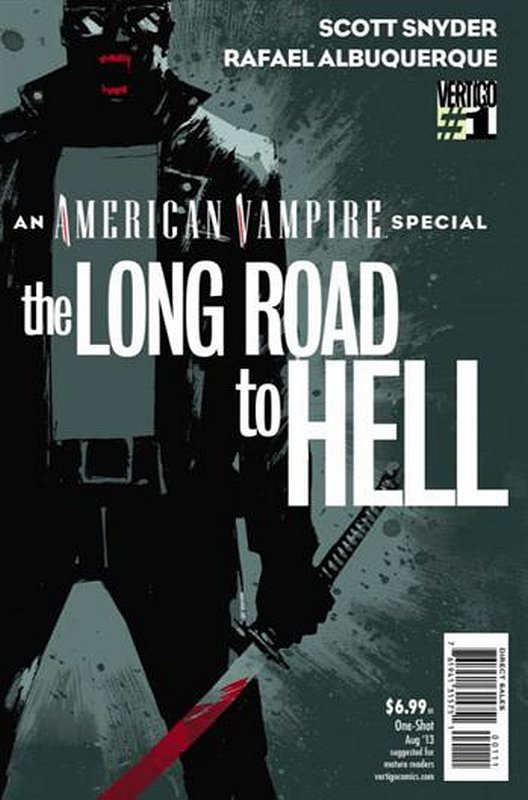 Cover of American Vampire: Long Road to Hell (One Shot) #1. One of 250,000 Vintage American Comics on sale from Krypton!
