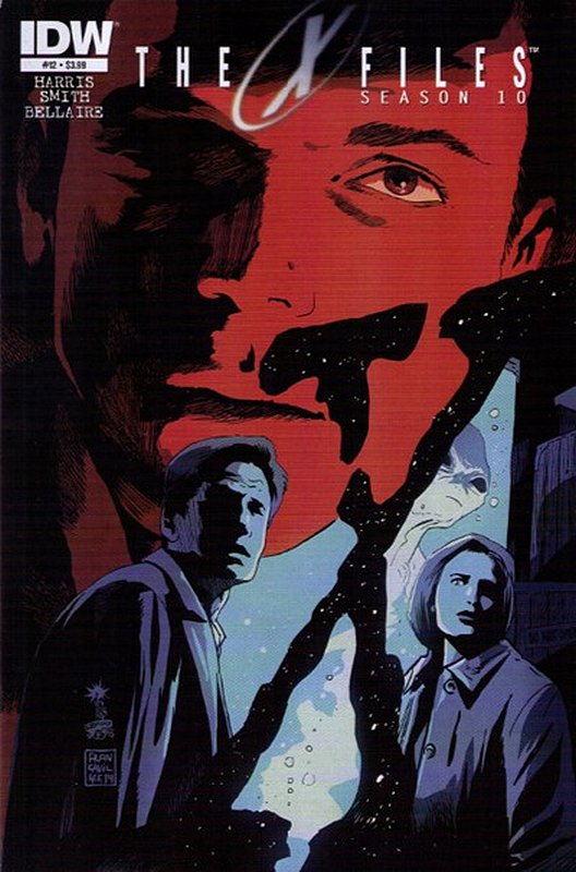 Cover of X-Files Season 10 #12. One of 250,000 Vintage American Comics on sale from Krypton!