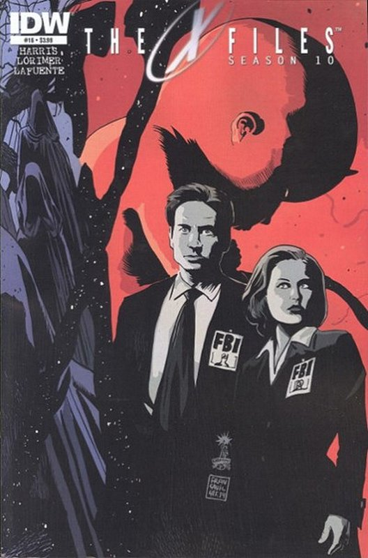 Cover of X-Files Season 10 #16. One of 250,000 Vintage American Comics on sale from Krypton!