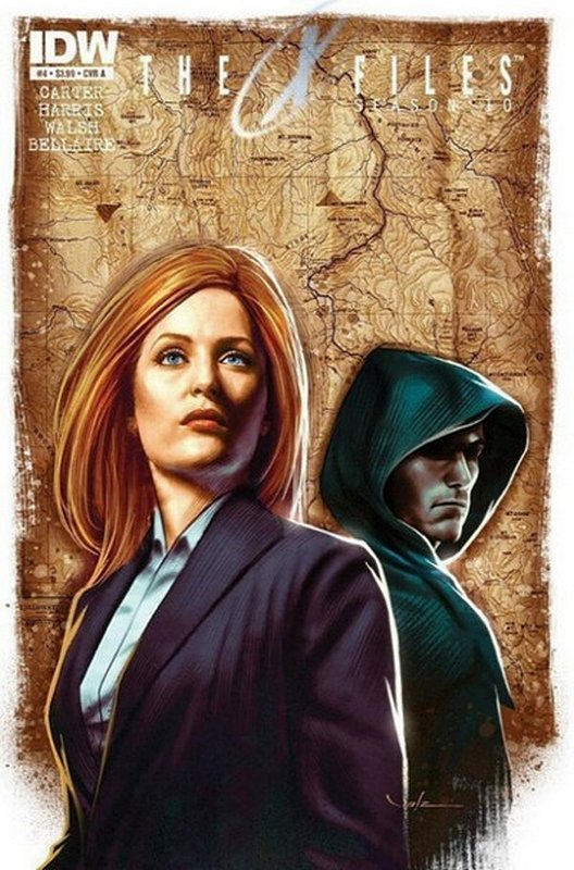 Cover of X-Files Season 10 #4. One of 250,000 Vintage American Comics on sale from Krypton!