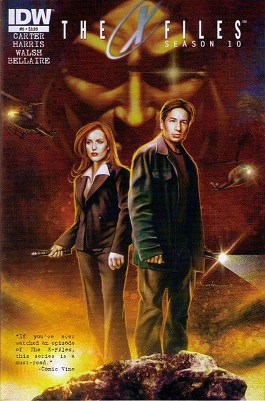 Cover of X-Files Season 10 #5. One of 250,000 Vintage American Comics on sale from Krypton!