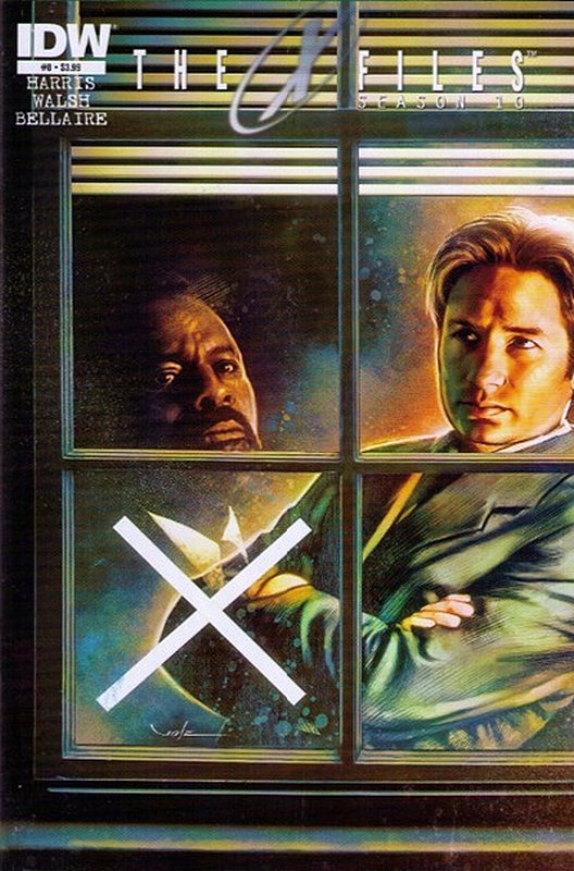 Cover of X-Files Season 10 #8. One of 250,000 Vintage American Comics on sale from Krypton!
