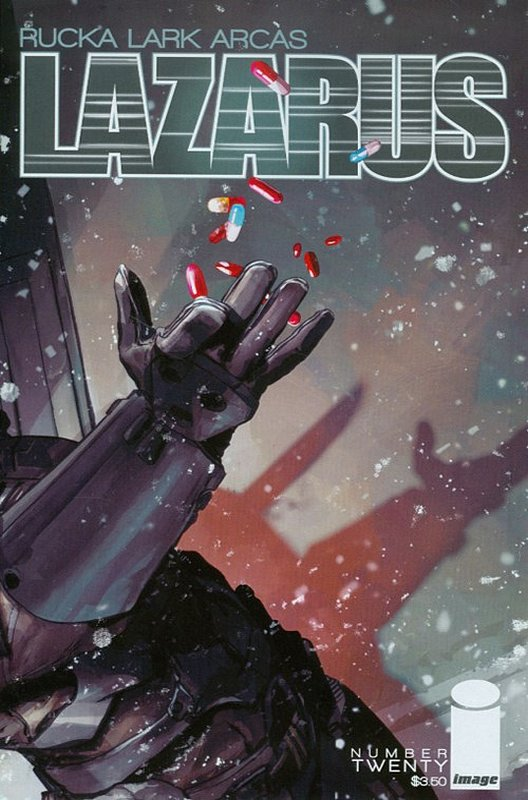 Cover of Lazarus (Vol 1) #20. One of 250,000 Vintage American Comics on sale from Krypton!