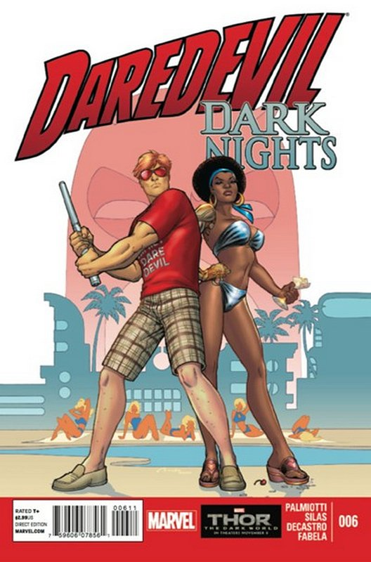 Cover of Daredevil: Dark knights (2013 Ltd) #6. One of 250,000 Vintage American Comics on sale from Krypton!
