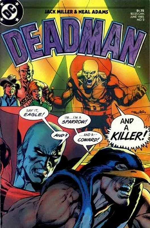 Cover of Deadman (1985 Ltd) #2. One of 250,000 Vintage American Comics on sale from Krypton!