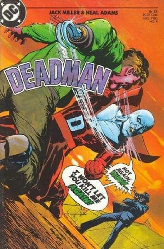 Cover of Deadman (1985 Ltd) #4. One of 250,000 Vintage American Comics on sale from Krypton!
