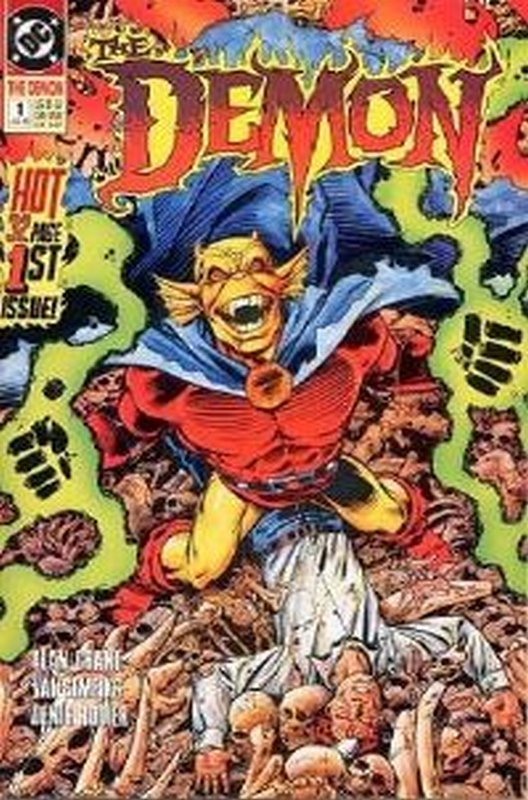 Cover of Demon, The (Vol 2) #1. One of 250,000 Vintage American Comics on sale from Krypton!