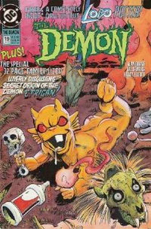 Cover of Demon, The (Vol 2) #19. One of 250,000 Vintage American Comics on sale from Krypton!