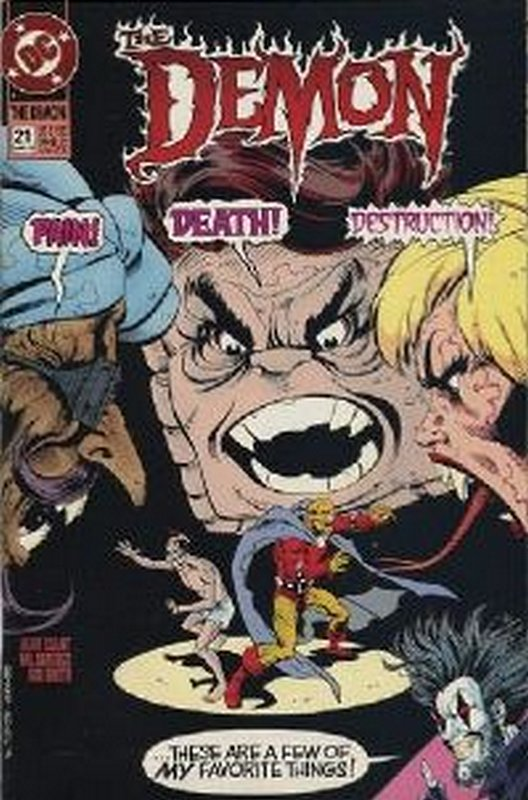 Cover of Demon, The (Vol 2) #21. One of 250,000 Vintage American Comics on sale from Krypton!