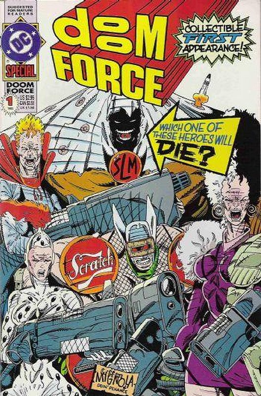 Cover of Doom Force Special (1992 One Shot) #1. One of 250,000 Vintage American Comics on sale from Krypton!