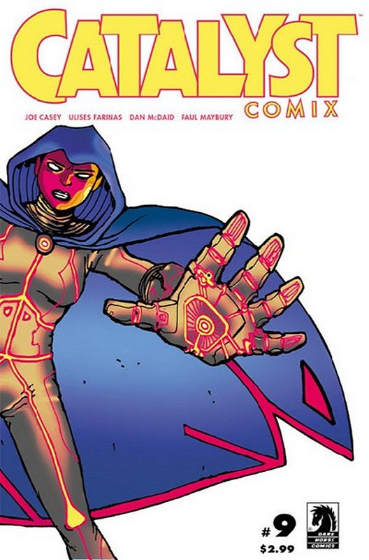 Cover of Catalyst Comix (2013 Ltd) #9. One of 250,000 Vintage American Comics on sale from Krypton!