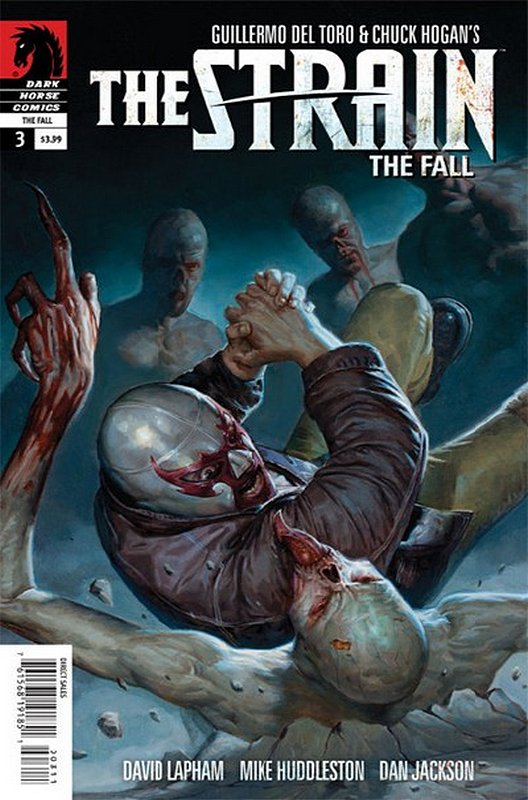Cover of Strain: The Fall (Vol 1) #3. One of 250,000 Vintage American Comics on sale from Krypton!