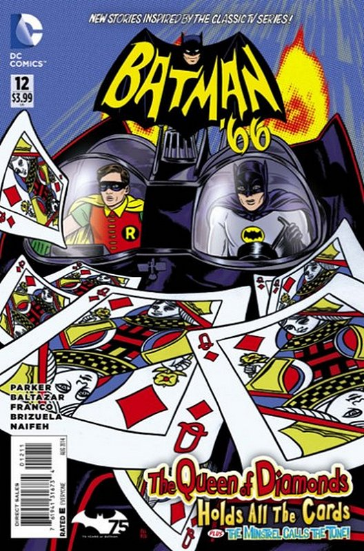 Cover of Batman 66 (Vol 1) #12. One of 250,000 Vintage American Comics on sale from Krypton!