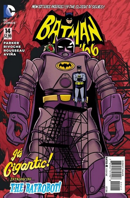 Cover of Batman 66 (Vol 1) #14. One of 250,000 Vintage American Comics on sale from Krypton!