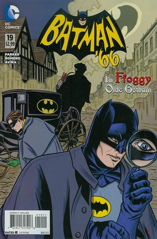 Cover of Batman 66 (Vol 1) #19. One of 250,000 Vintage American Comics on sale from Krypton!