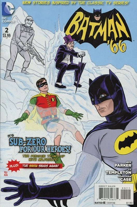 Cover of Batman 66 (Vol 1) #2. One of 250,000 Vintage American Comics on sale from Krypton!