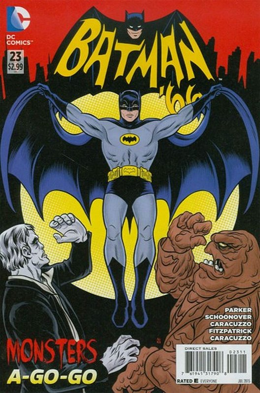 Cover of Batman 66 (Vol 1) #23. One of 250,000 Vintage American Comics on sale from Krypton!