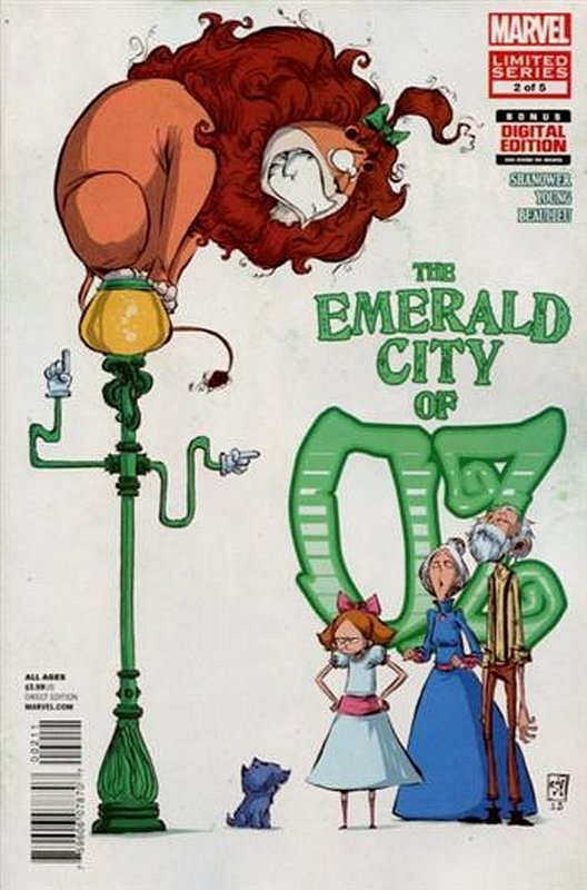 Cover of Emerald City of Oz (2013 Ltd) #2. One of 250,000 Vintage American Comics on sale from Krypton!