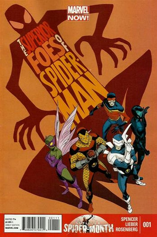 Cover of Superior Foes of Spider-Man (Vol 1) #1. One of 250,000 Vintage American Comics on sale from Krypton!