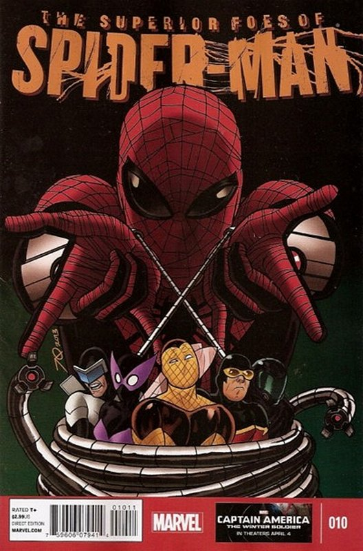 Cover of Superior Foes of Spider-Man (Vol 1) #10. One of 250,000 Vintage American Comics on sale from Krypton!