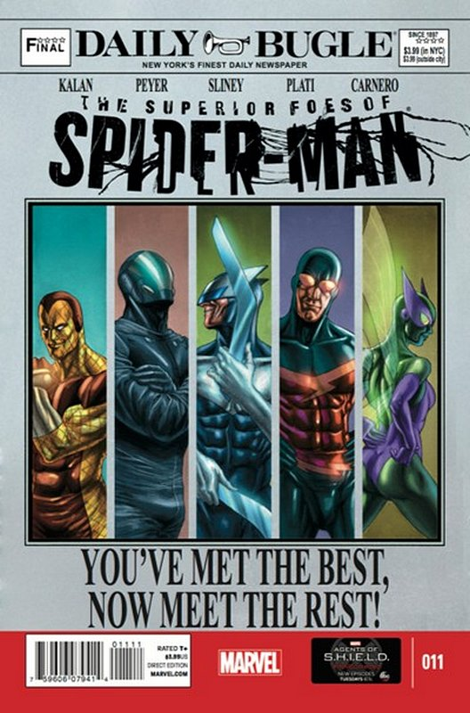 Cover of Superior Foes of Spider-Man (Vol 1) #11. One of 250,000 Vintage American Comics on sale from Krypton!