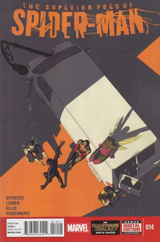 Cover of Superior Foes of Spider-Man (Vol 1) #14. One of 250,000 Vintage American Comics on sale from Krypton!