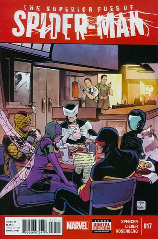 Cover of Superior Foes of Spider-Man (Vol 1) #17. One of 250,000 Vintage American Comics on sale from Krypton!