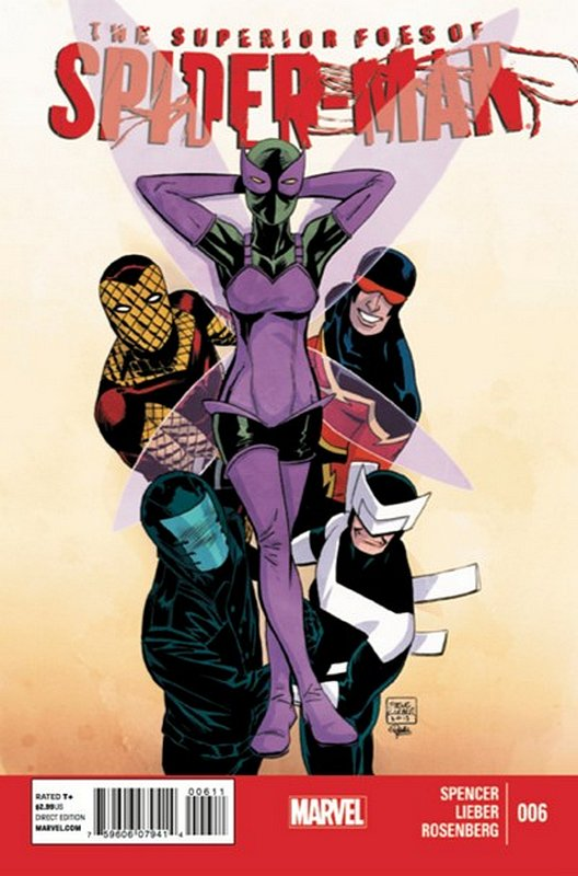 Cover of Superior Foes of Spider-Man (Vol 1) #6. One of 250,000 Vintage American Comics on sale from Krypton!