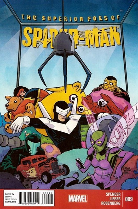 Cover of Superior Foes of Spider-Man (Vol 1) #9. One of 250,000 Vintage American Comics on sale from Krypton!